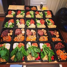 """Who's excited for #mealprepsunday tomorrow??! We are!!! Here's a sweet meal prep prepared by @wazzusteve ... great job sir """" 4th week on meal prep plan. Favorite combo is the half chicken breast caprese salad and brown rice. This week turned my sweet potatoes into a casserole """" Head on over to our site Mealprepster.com and get started with creating a good habit in meal prepping! Remember to tag us in your meal preps using #mealprepster for a chance to get featured!!! #preplife #mealpreplife…"""