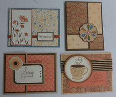 January card workshop using Clementine paper:  see Snips, Snaps, and Scraps