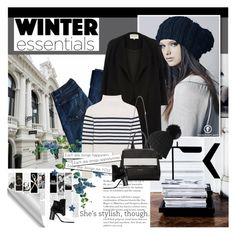 """""""Winter Essentials"""" by giko-is-giantsister ❤ liked on Polyvore featuring Mon Cheri, Alexander Wang, 7 For All Mankind, River Island, Topshop Unique and Givenchy"""