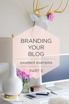So far, in Branding You Blog we have looked at why branding your blog is so important in Part 1, and in Part 2 we got expert advice with Miss Modern's Top 5 Branding tips. Here in part 3 I am offering examples of blogs who have the branding thing down-pat and take a look …