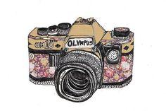 câmera desenho tumblr - Pesquisa Google
