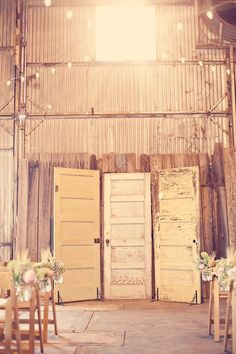 backdrop ideas for a barn,rustic,southern wedding