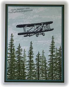 Sky Is The Limit - Watercolor Wash, Wonderland. Ink - Mossy Meadow, Soft Sky, StazOn Jet Black. Markers - Early Espresso, Sahara Sand. CS - Lost Lagoon, Mossy Meadow, WW.