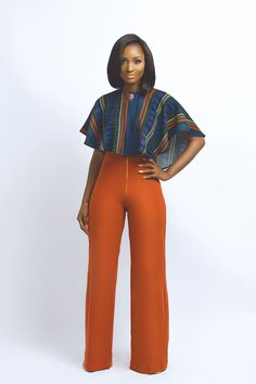 Nouva-Couture ~African fashion, Ankara, kitenge, African women The pants are life! African Attire, African Wear, African Women, African Dress, African Style, African Outfits, African Inspired Fashion, African Print Fashion, Fashion Prints