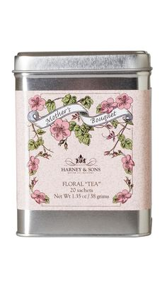 'Specialty Tin' Mother's Bouquet Herbal Tea - HARNEY & SONS - Smith & Caughey's - Smith and Caughey's