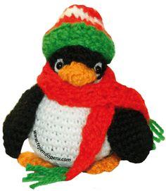 Cómo tejer un pingüino en crochet - amigurumi penguin