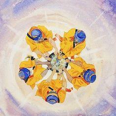 Amrit. beautiful #sikhart by @bhupi.ca Sikhism Beliefs, Guru Pics, Shri Guru Granth Sahib, Guru Gobind Singh, Game Of Love, Art Hub, Mughal Empire, Nanak Dev Ji, World Religions