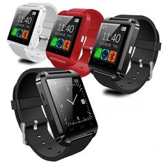 Smart Watches: Bluetooth Smart Wrist Watch Phone Mate For Ios Android Iphone Samsung Htc Lg BUY IT NOW ONLY: $9.99