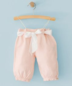 Another great find on #zulily! Pink Danielle Trousers - Infant #zulilyfinds