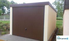 Vakolt hatású lemezgarázs Shed, Outdoor Structures, Barns, Sheds