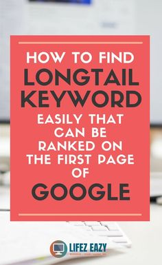 An easy keyword research tip to find long-tail keywords with less competition Seo Marketing, Digital Marketing, Media Marketing, Online Marketing, Website Design Services, Design Websites, Web Design Quotes, Seo Guide, Seo For Beginners