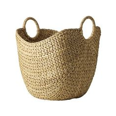 Curved Basket, Large, Natural