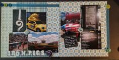 Summertime Scrapbook Pages