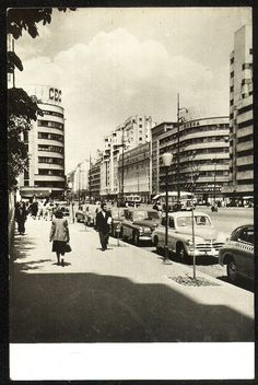 Bucuresti - 1950 Bucharest Romania, Beautiful Architecture, Modernism, Alter, Street View, Urban, Memories, World, Travel