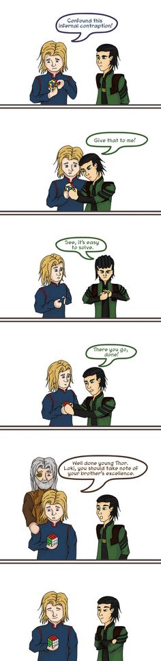 loki and the Impossible Cube by Erkillers