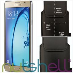 Samsung Galaxy On5 Smartphone Holster  #nutshell #belt #smartphone #leather #cases #holster #LongLife #smartphoneprotection #clip #smartphonesecurity