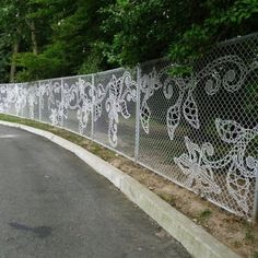 Someone who doesn't need to do fence stitching or masking tape graffiti because they can change model the whole fence into a pattern ! A-mazing!