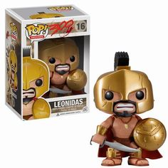 Funko Pop King Leonidas in Sparta 300 Rise of an Empire Vinyl Doll Figure Toys Funko Pop Dolls, Funko Toys, Funko Figures, Vinyl Figures, Action Figures, Pop Vinyl Collection, Emo, Pop Figurine, Pop Toys