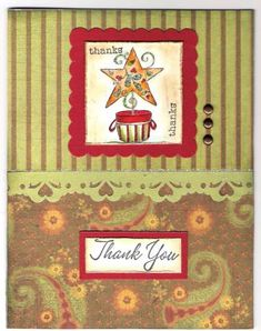 Thanks, You are a Star by mitchygitchygoomy - Cards and Paper Crafts at Splitcoaststampers Heart Border, Great Thank You, Petunias, Christmas And New Year, Digital Image, Thank You Cards, Sunshine, Thankful