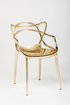 """Kartell """"Master"""" Chair By Philippe Starck."""