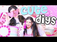 Cute DIY Projects You NEED to Try! | DIY Donuts, Room Decor, + More! - YouTube