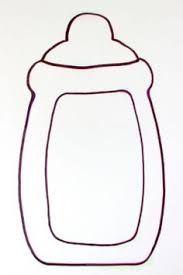 Resultado de imagem para molde bebe com chupeta em eva