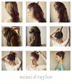 undone+bun+hair+tutorial