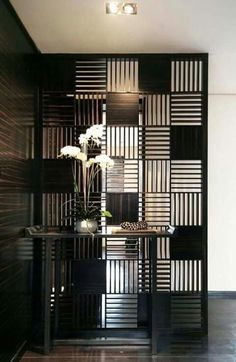 15 Creative Ideas For Room Dividers Artistic geometric wall
