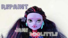 Repaint - Jane Boolittle - Monster High
