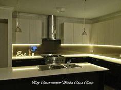 Construindo Minha Casa Clean: Decoração com Fitas de Led!!! Saiba onde Usar!