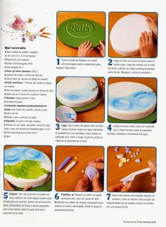 como hacer pasteles infantiles paso a paso   Revistas de manualidades gratis Fruit, Biscuit, Food, Food Cakes, Sweets, Art Journals, Free Downloads, Step By Step, Essen