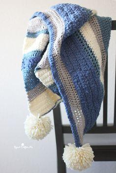 Winter Mix Crochet Blanket