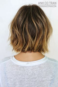 LA: A SHORTER MORE STYLISH CUT. Cut/Style: Anh Co Tran. Appointment inquiries please call Ramirez|Tran Salon in Beverly Hills: 310.724.8167