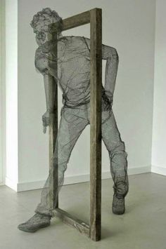 Edoardo Tresoldi - Sculpture en grillage fin