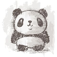 Panda drawing 7, Toru Sanogawa