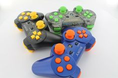 Elite Button Packages are available in 11 different colors and can be added to ANY GamingModz PlayStation 3 controller. All of our Xbox 360 Modded Controllers are compatible with every major game on the market today. You can also purchase a customized PS3 Controller without any mods pre-installed.