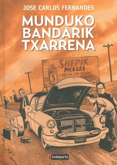 La peor banda del mundo, de José Carlos Fernandes, la obra más premiada de la historieta portuguesa, ofrece una visión de conjunto de una ciudad sin nombre, mezcla de la Praga de Kafka, el Nueva York de Ben Katchor y el Buenos Aires de Borges.