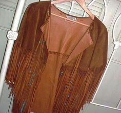 Hippie fringe jacket - Google Search
