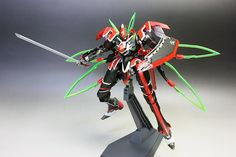 MECHA GUY: VALVRAVE: 1/144 Valvrave - Painted Build by zgmfxg
