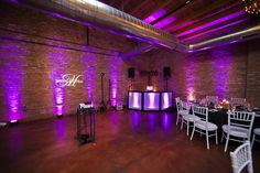 Best Lighting - Kaori and Chris took the spotlight, literally! Their #lighting was one of the most impressive at #LoftonLake in 2012. #wedding