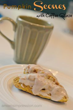 Pumpkin Scones with