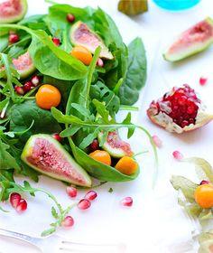 Fig & Pomegranite Salad
