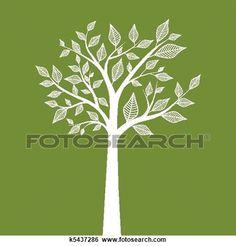 Tree View Large Illustration
