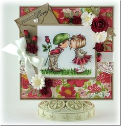 Lili of the Valley image, card by Bev