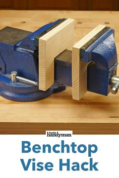 Benchtop Vise Hack tools for beginners tools for sale tools homemade tools jigs tools must have tools workshop Woodworking Techniques, Woodworking Projects Diy, Woodworking Wood, Diy Wood Projects, Wood Crafts, Woodworking Shop Layout, Project Projects, Woodworking Inspiration, Japanese Woodworking