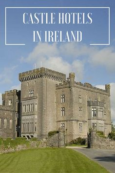 An Irish Vacation wouldn't be complete without a stay in an Irish Castle.......here are a selection of some our beautiful castle hotels.
