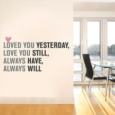 Love You Yesterday, Love You Still, Always Have, Always Will ... Love Youuuu Gian !!!
