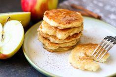 Placki z jabłkami - smaki dzieciństwa ⋆ M&M COOKING Polish Recipes, Polish Food, Pancakes, Curry, Appetizers, Sweets, Cooking, Breakfast, Pierogi