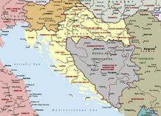 Croatiahttpgeologycomworldcroatiamapgif Maps