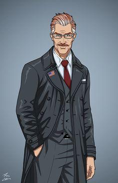 Deputy Mayor Jim Gordon (Earth-27) commission by phil-cho.deviantart.com+on+@DeviantArt